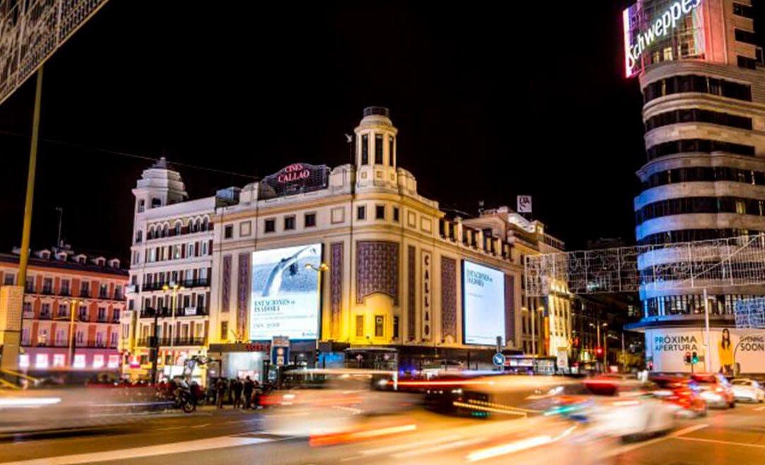 CALLAO CITY LIGHTS, ANFITRIONES DE LA PUBLICIDAD EXTERIOR EN MADRID