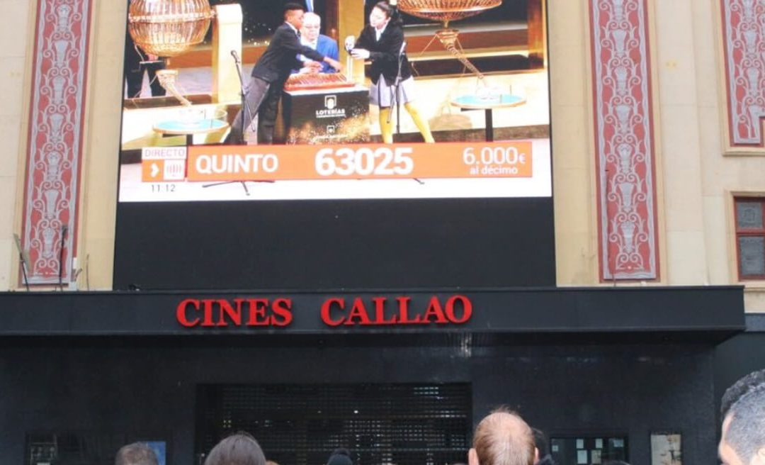 TELEMADRID BROADCASTS THE CHRISTMAS LOTTERY DRAW