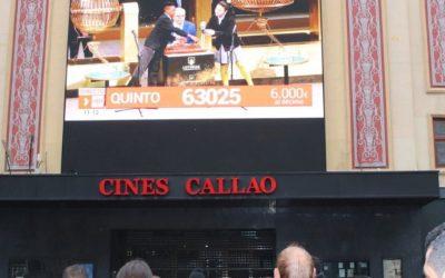 TELEMADRID RETRANSMITE EL SORTEO DE LA LOTERÍA DE NAVIDAD