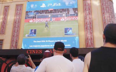 PLAYSTATION 4 ELIGE LAS PANTALLAS DE CALLAO PARA RETRANSMITIR LA FINAL DE LA UEFA ECHAMPIONS LEAGUE