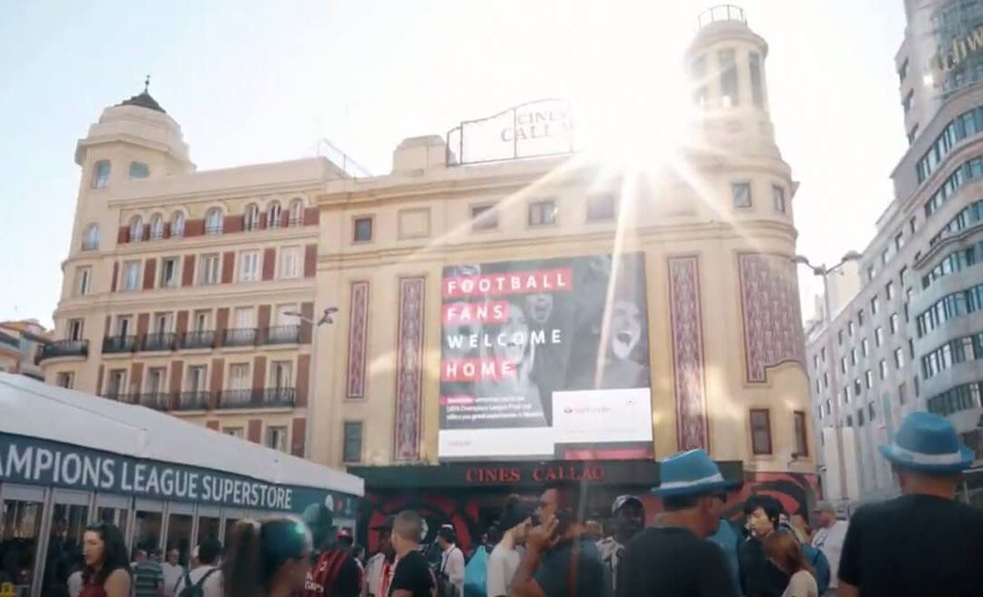 CALLAO, EPICENTRE OF THE UEFA CHAMPIONS LEAGUE FINAL OUTDOORS