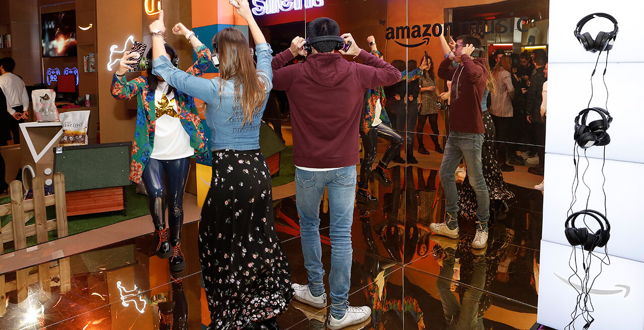 AMAZON ABRE SU POP UP STORE EN CALLAO CON MOTIVO DEL BLACK FRIDAY