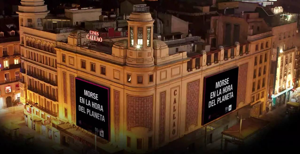 CALLAO CITY LIGHTS APAGA SUS PANTALLAS CON MOTIVO DE LA HORA DEL PLANETA