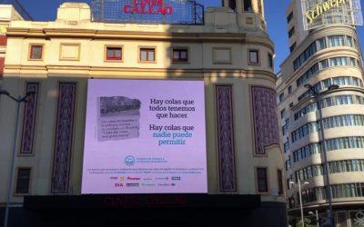 ACCIÓN SOLIDARIA DE FESBAL Y HMG PARA ACABAR CON 'LAS COLAS DEL HAMBRE'