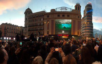 CALLAO CITY LIGHTS RETRANSMITE EN DIRECTO LA PRESENTACIÓN MUNDIAL DE 'TABÚ', EL NUEVO VIDEOCLIP DE PABLO ALBORÁN Y AVA MAX