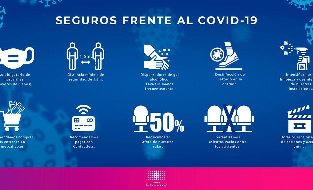 LOS CINES CALLAO REABREN SUS PUERTAS SEGUROS FRENTE AL COVID-19