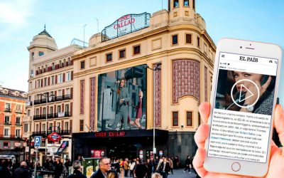 TOMMY HILFIGER AND CALLAO CITY LIGHTS OR HOW TO COMBINE OUTDOOR AND MOBILE TO ENHANCE BRAND RECALL