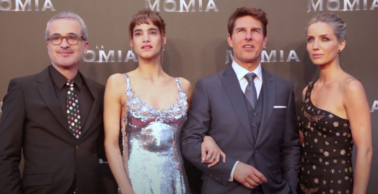 """TOM CRUISE STIRS PASSIONS DURING THE PREMIERE OF """"THE MUMMY"""" AT CINES CALLAO"""