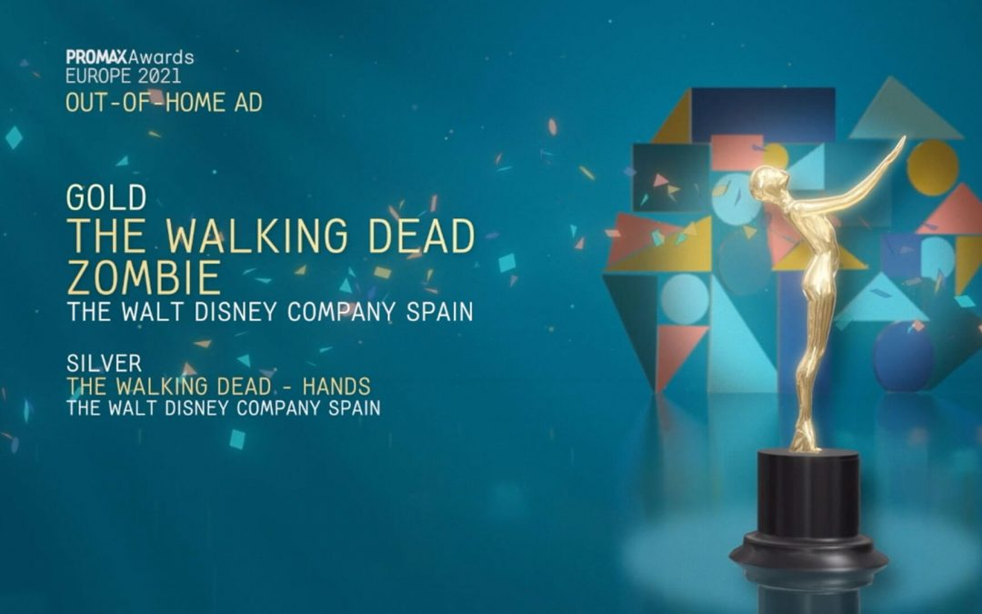 'ZOMBIE', DISNEY'S ACTION IN CALLAO CITY LIGHTS, GOLD AT THE PROMAX EUROPE AWARDS 2021
