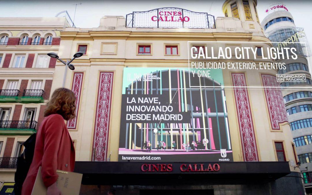 CALLAO CITY LIGHTS PARTICIPATES IN THE CAMPAIGN 'FABRICADO EN MADRID'