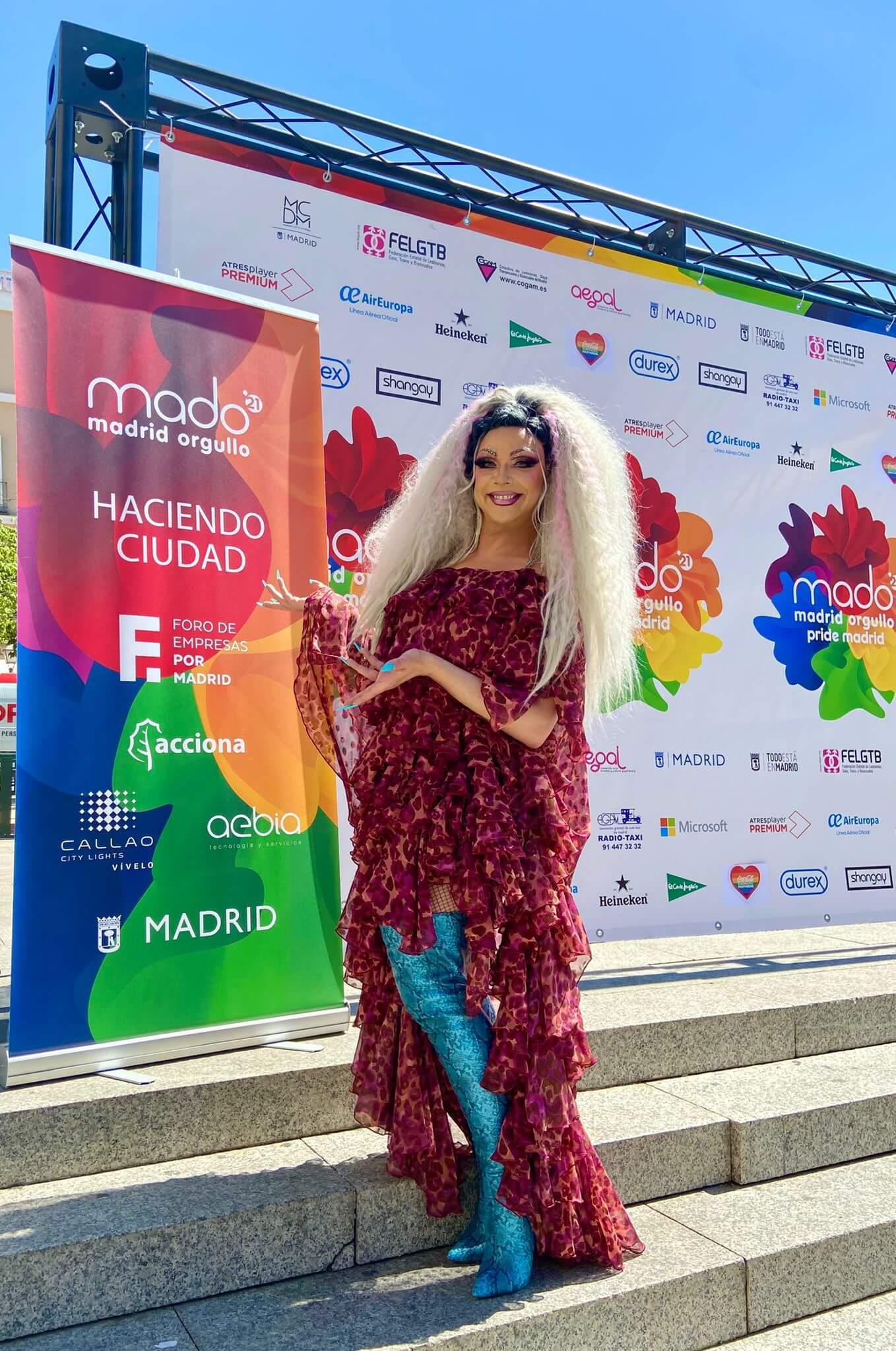 Callao City Lights, entidad colaboradora de MADO, Madrid Orgullo