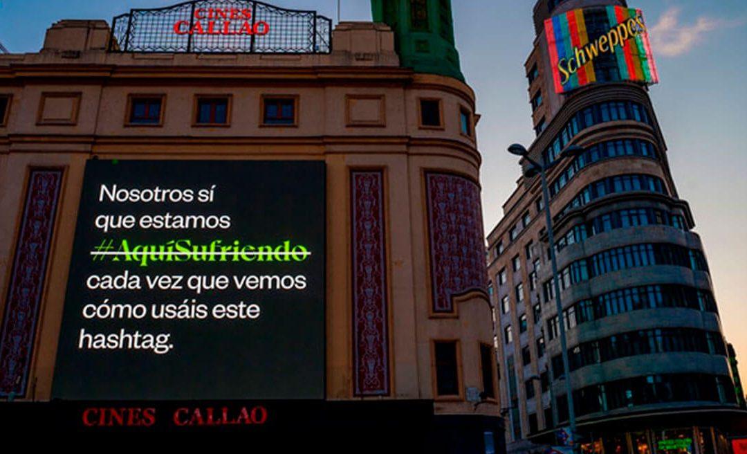 'TELÉFONO DE LA ESPERANZA' APPROVES THE SUMMER HASHTAG #AquíSufriendo IN FAVOUR OF MENTAL HEALTH
